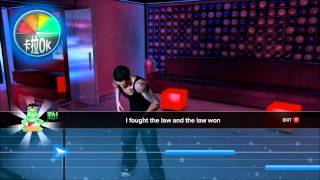 "Sleeping Dogs [PC] Karaoke ""I Fought The Law"" 100% [HD]"