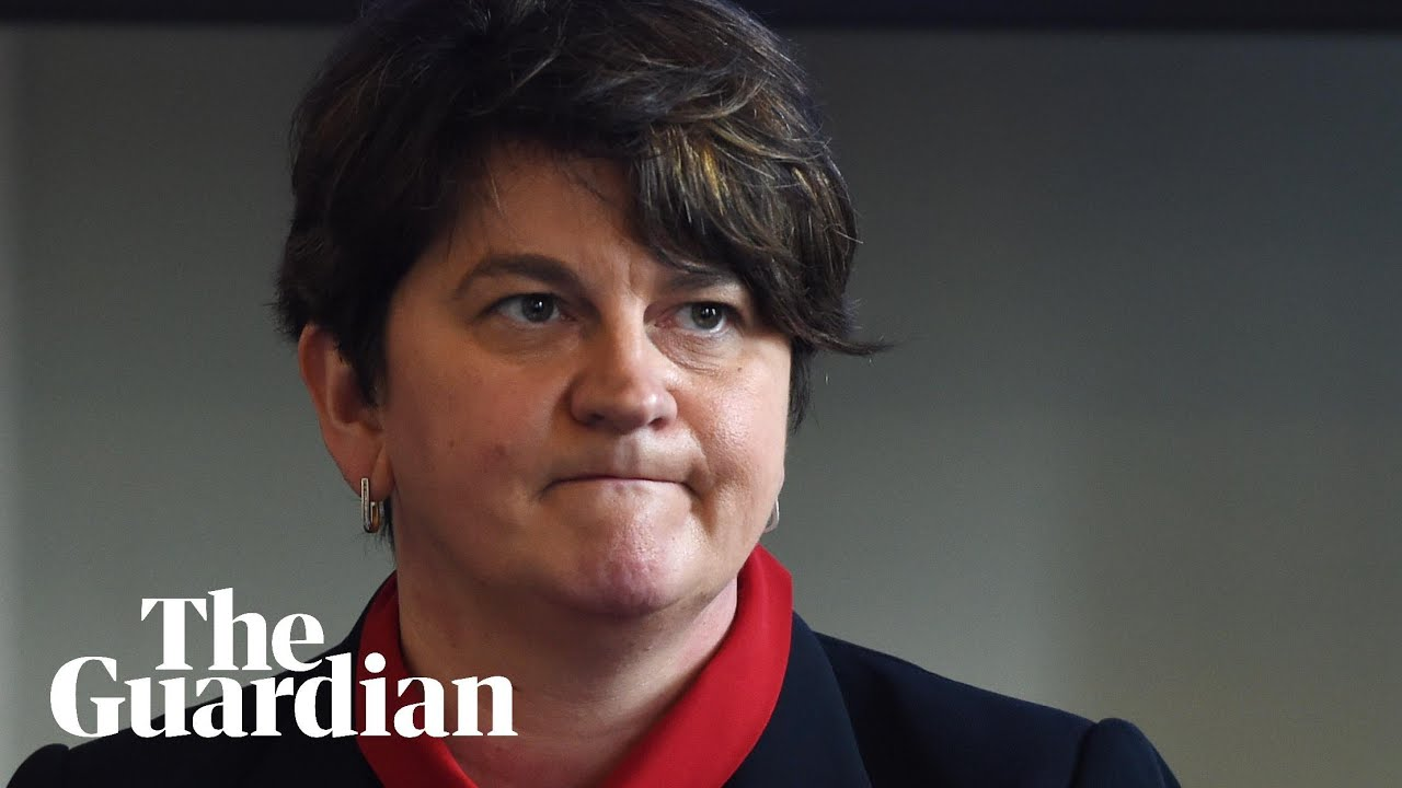 Arlene Foster Resigns as First Minister of Northern Ireland