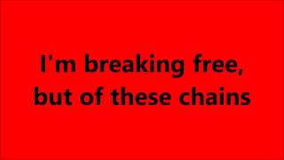 Of These Chains | Red | Lyrics Onscreen | Of Beauty And Rage | New Song 2015