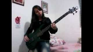 Klissia Silveira - Secret Agent Man (Johnny Rivers Bass cover)