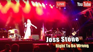 Joss Stone - Right To Be Wrong - Live