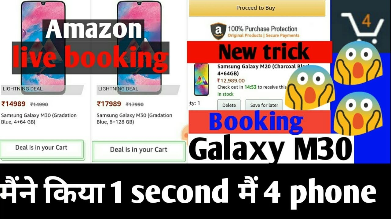 Download thumbnail for Live booking Samsung Galaxy M30