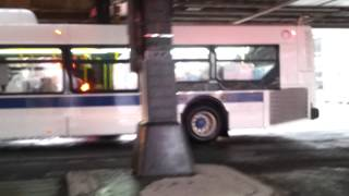 (Feat. an LFS) Man Bch Bound 2011 NFI XD40 on the B1 @ 86 St and Bay Pkwy