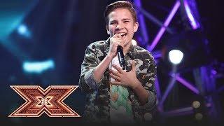 Janis Joplin - Cry Baby. Vezi cum cântă Eduard Ungureanu, la X Factor!