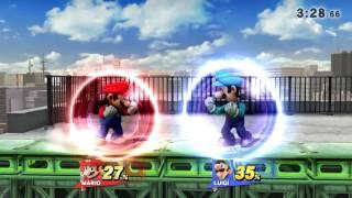 Super Smash Bros Wii U For Glory | Mario V.S Luigi