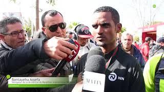 Découvrez toutes les réactions des vainqueurs du Marathon international de Rabat 2018