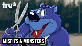 "Bobcat Goldthwait's Misfits & Monsters - First Look at ""Bubba the Bear"" 