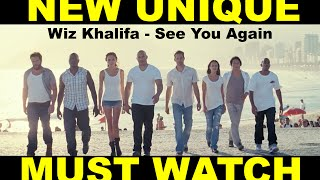Fast and Furious 7 - See You Again (A Tribute to Paul Walker)