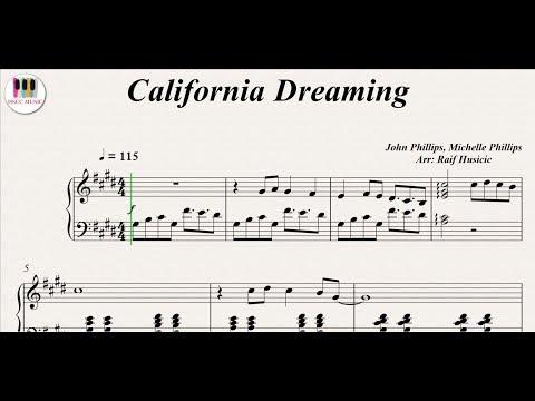 Comment jouer California Dreamin au piano