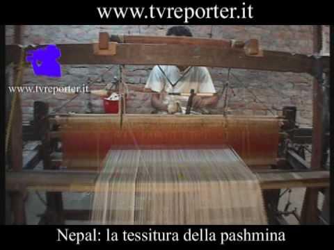 Nepal: la tessitura della pashmina