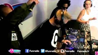 Stromae - Ave Cesaria (Major Lazer Remix) Live @ Fun Radio