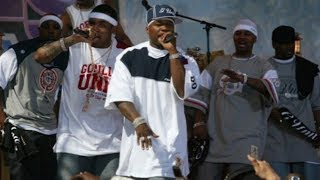 50 Cent ft G-Unit™ ( Lloyd Banks and Tony Yayo)  -•What Up Gangsta• - Live 2003.