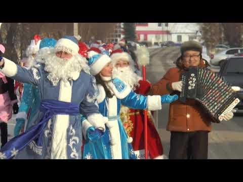 Парад Дедов Морозов, Снегурочек и сказочных персонажей