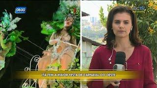 Itá tem maior festa de Carnaval do Oeste de Santa Catarina