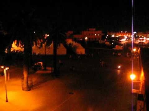 lights and sounds marakesh morocco