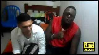 Profetiza (Dayan y Jean) en Vip Tv Live con Roni Rey behind the scenes