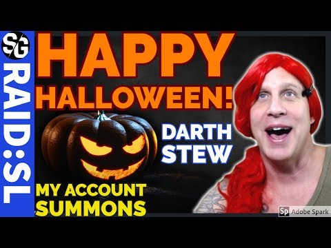 RAID SHADOW LEGENDS | HALLOWEEN SUMMONS BY DARTH STEW