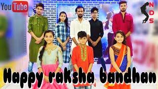 Phoolo ka taro ka sabka kehna hai || Happy raksha bandhan || nik dance studio || nikhil sir✓