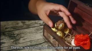 Seda a Chocolate Ferrero Rocher por Sean Yang - www.mundomagos.com