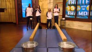 LIVE! with Kelly- Jordyn and Aly of Fierce Five US Gymnastic team