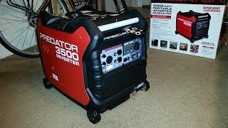 Predator 3500 inverter with wireless remote installed