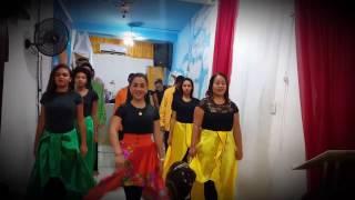 Coreografia-Muito Além do Céu(Canção e Louvor)| Ministério de Dança Nascidos para Adorar