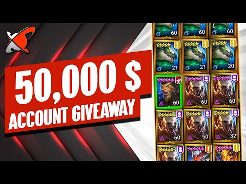 READY FOR THE DUPE SYSTEM !?! | This 50,000$ Account Giveaway Is LOL | RAID: Shadow Legends