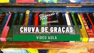 Vídeo Aula de Acordeon - Harpa Cristã - 01 - Chuva de Graças