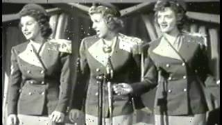 Here Comes the Navy - The Andrews Sisters 1942