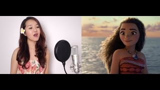 How Far I'll Go (Movie Version) - Disney's MOANA - Grace Lee Cover