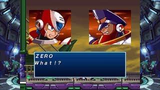 Rockman X4 / MegaMan X4 - Colonel Battle: Space Port (Zero Perfect Run)