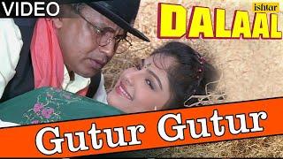 Gutur Gutur Full Video Song | Dalaal | Mithun Chakraborty, Ayesha Jhulka | Kumar Sanu, Alka Yagnik width=