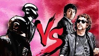Justice vs Daft Punk | D.A.N.C.E. Voyager Remix