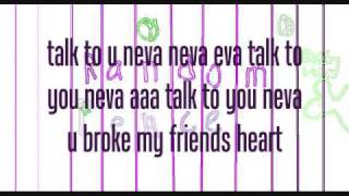 ttyn {talk to you never} natalie and livs lyrics