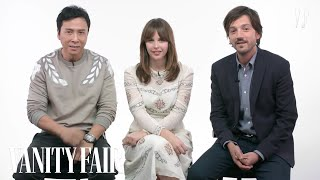 Rogue One Cast Explains Star Wars Characters | Vanity Fair