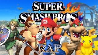SUPER SMASH BROS RAP | KEYBLADE - ZARCORT - SHARKNESS -JACKY - KRONNO (Prod. by veysigz beats)