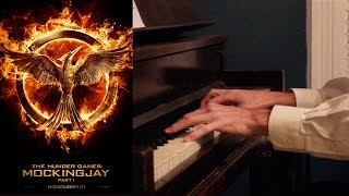 """The Hanging Tree"" Piano Cover + Tutorial - Jennifer Lawrence - Mockingjay Part 1 - The Hunger Games"
