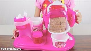 Mainan Anak My Ice Cream Maker - Make Your Own Ice Cream Chocolate