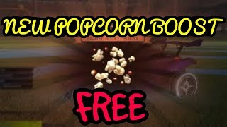 FREE POPCORN BOOST  (ROCKET LEAGUE)
