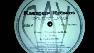 Choclair   What It Takes Day Remix Instrumental 1997 HQ