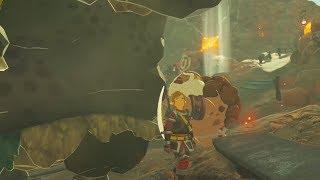 Black Hinox Visits Goron City - Zelda Breath of the Wild