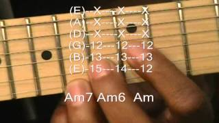 How To Play 80's Prince Style KISS R&B Chord Progressions & Funk Riffs On Guitar #4 Funky Friday