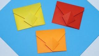 DIY - Easy origami envelope tutorial. How to make envelope. DIY paper crafts easy/ Julia DIY