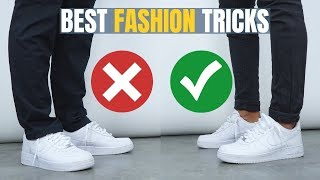 The 7 BEST Fashion TRICKS All Men Should Know