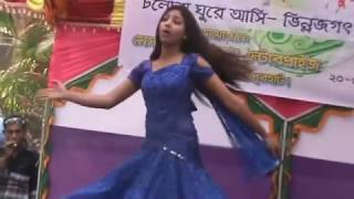 Bangla dance stage show new   BD Girls Hot Stage Dance width=