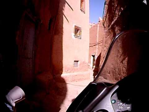 Marrocos – Bairro popular em Ouarzazate