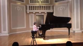 Katherine Shi  (6) plays Eine Kleine Nachtmusik: Allegro & Rondo by Mozart,