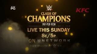 WWE Clash of Champions 2016: Owens vs. Rollins