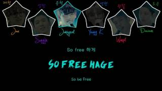 Day6 - Freely (Free하게) [Color Coded Han|Rom|Eng Lyrics]