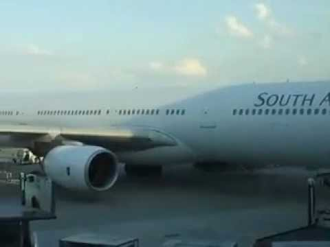 Airbus 340-600 South African Airways